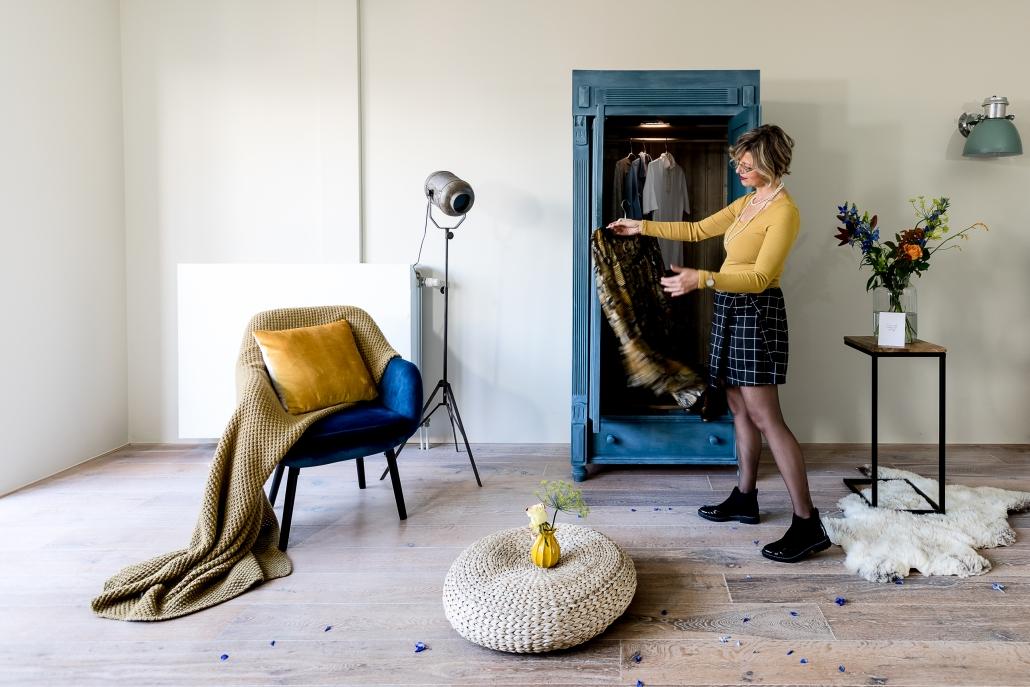 Leer je eigen unieke interieurstijl kennen met de 'Kledingkast Methode'.