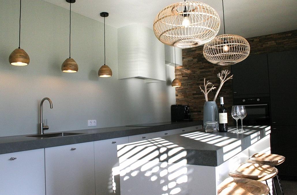 Nieuw keukenontwerp zorgde voor een veel ruimere keuken