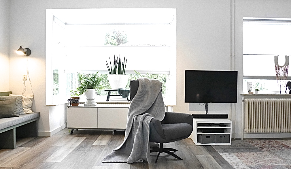 Interieuradvies Elburg - Aparte hoek maken voor de tv