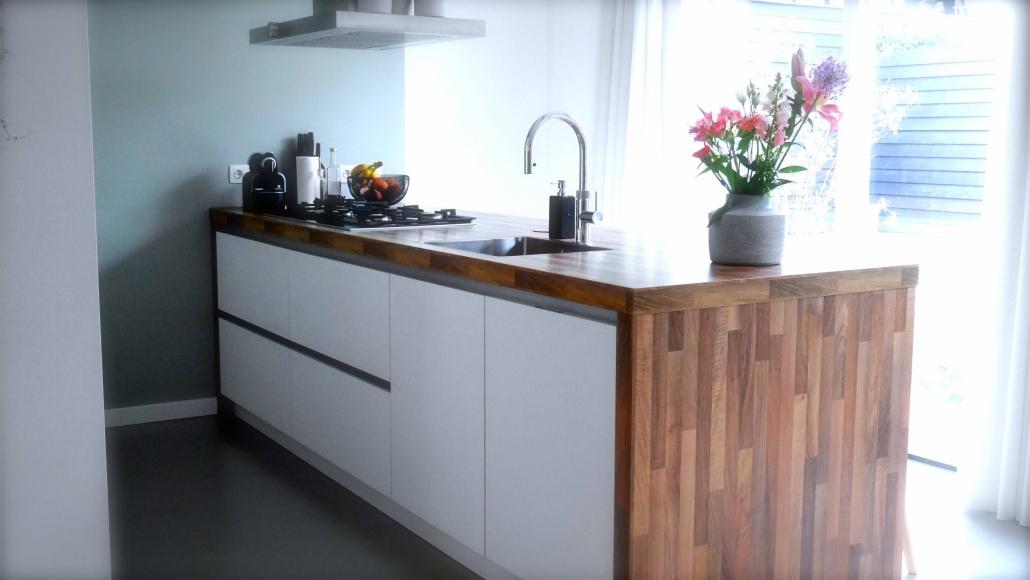 Keukenontwerp voor nieuwbouwhuis Roosendaal.